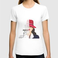 peggy carter T-shirts featuring Agent Peggy Carter by Sindhu Tngm
