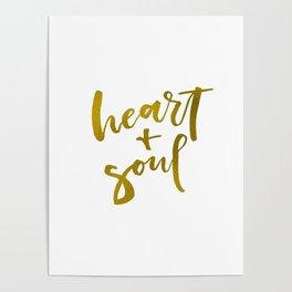 HEART + SOUL Poster