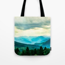 Clouded Beauty Tote Bag