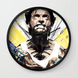 Hero by adamantium claws Wall Clock