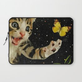 All Across the Universe Chasing Butterflies and Dreams Laptop Sleeve