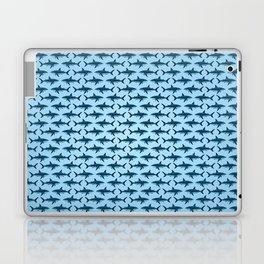 Pattern: Great White Shark  ~ Light Blue ~ (Copyright 2015) Laptop & iPad Skin