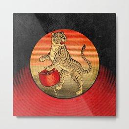 Matchbox Tiger Metal Print