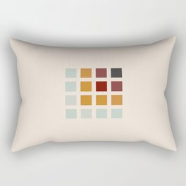 Retro Rocket 44 Rectangular Pillow