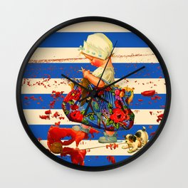 THE LITTLE LADY V Wall Clock