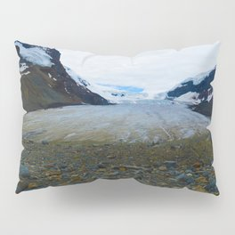 Columbia Icefields in Jasper National Park, Canada Pillow Sham