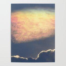 Nube Iridiscente Poster