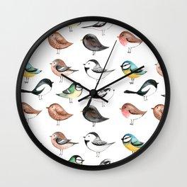 Garden Birds Wall Clock