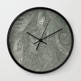 Mother's Brain Wall Clock