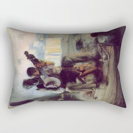 The Banjo Lesson by Henry Ossawa Tanner Rectangular Pillow