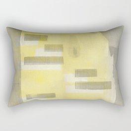 Stasis Gray & Gold 1 Rectangular Pillow