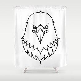 Vision - B&W Shower Curtain