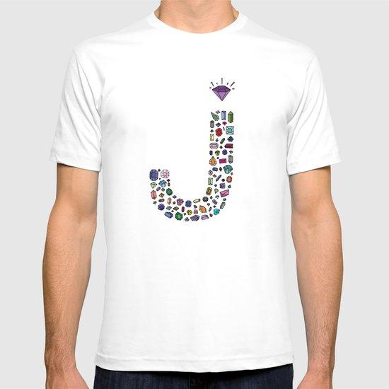 letter j - jewels T-shirt