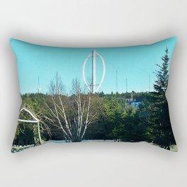 Vertical Wind Turbine Rectangular Pillow