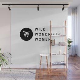 Wild Wondrous Women Logo Tee (Text Tee) Wall Mural