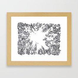 BOOM Ink4 Framed Art Print