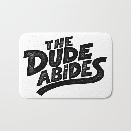 the Dude Bath Mat