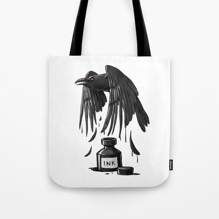 Ink Raven Tote Bag