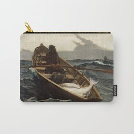 Winslow Homer, The Fog Warning, 1885 Carry-All Pouch