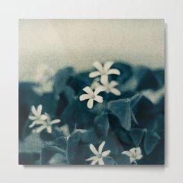 Pretty in Blue Metal Print