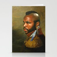 replaceface Stationery Cards featuring Mr. T - replaceface by replaceface