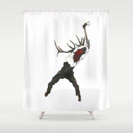 La coupe des Bois Shower Curtain