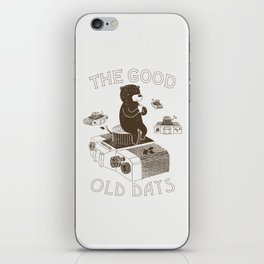 The Good Old Days iPhone Skin