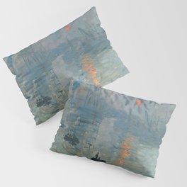 Claude Monet – Impression soleil levant – impression sunrise Pillow Sham