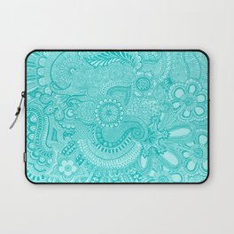 millions aqua Laptop Sleeve