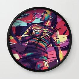 Didier Goal Legend Wall Clock