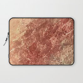 Crystallized Copper Trails Laptop Sleeve