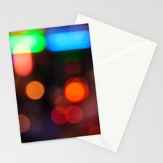 Night Light Colors Stationery Cards