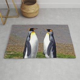King Penguins Bonding Rug
