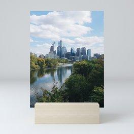 City of Philadelphia Mini Art Print