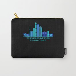 Toronto Parkdale Canada Skyline Carry-All Pouch