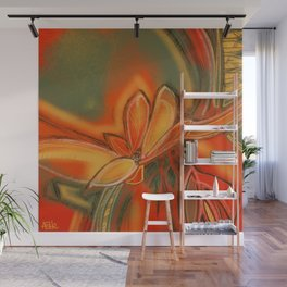 Flower of Passion Wall Mural