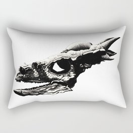 Stygimoloch Skull Rectangular Pillow
