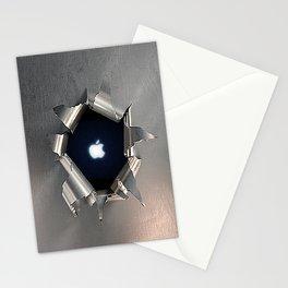 Apple Hole Stationery Cards