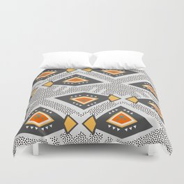 Dotted ethnic pattern Duvet Cover