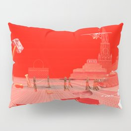 SquaRed: Russia Today Pillow Sham