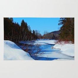 Wonderful River in Spring Rug
