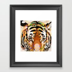 Tiger Mix #3 Framed Art Print