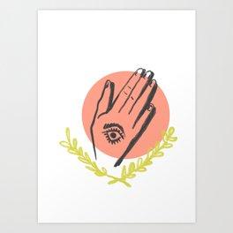 REZANDO Art Print