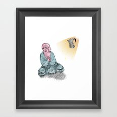 GOD GIMME THE STRENGTH Framed Art Print