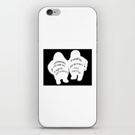 The Tweedles iPhone Skin