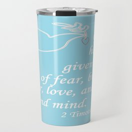 No Spirit of Fear Travel Mug