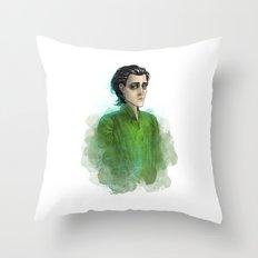 Loki #4 Throw Pillow