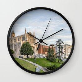 El Prado Museum. Madrid Wall Clock