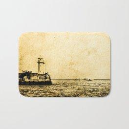 Old Lighthouse (vintage) Bath Mat