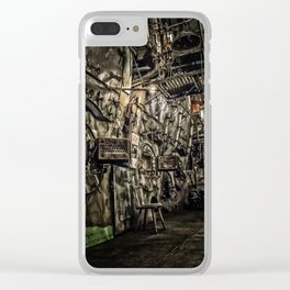 The Boiler Room Clear iPhone Case